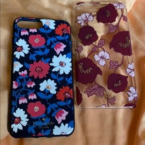Two Kate Spade IPhone 8/7 Plus Cases